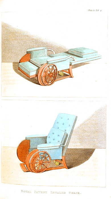 Design -Object - Royal patent invalid chair
