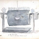 Design - Object - Saddle of Whale's Blubber, feather ornamentation