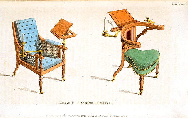 Design -Object - library reading chair