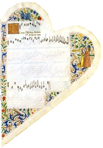 Design - Paper - Graphic - Medieval - Heart shaped (3)