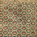 Design - Paper - Green and red hexigon