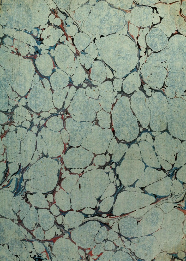 Design - Paper - Marbleized  - Blue  (4)