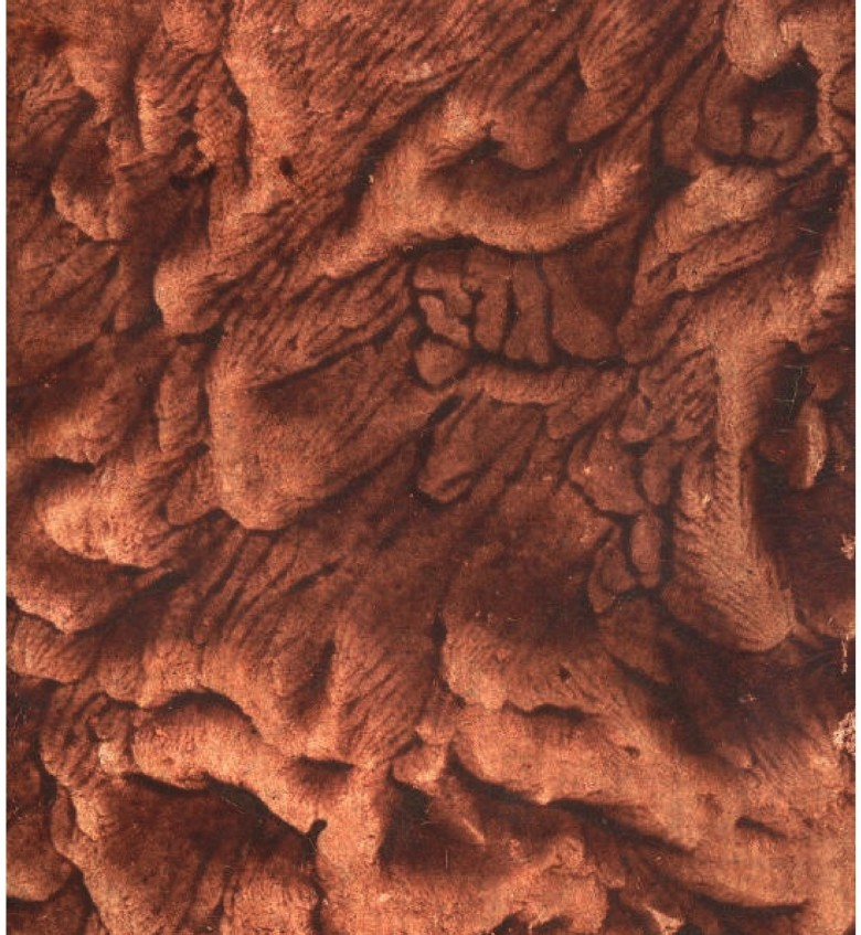 Design - Paper - Marbleized Brown (1)