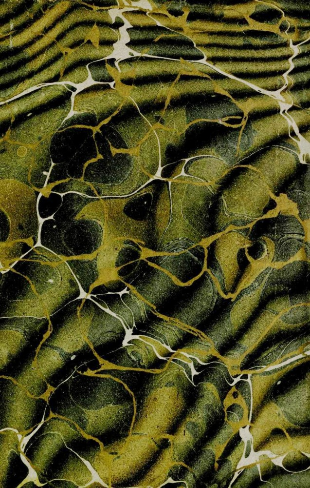 Design - Paper - Marbleized green (2)