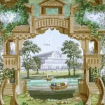 Design - Paper - Wallpaper - Victorian Crystal Palace Wallpaper