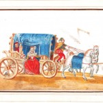 Entertainment - Italian - Woman in carriage