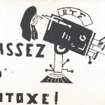 Ephemera - Poster - Paris Student Political Activity Assez D'Intoxe! 1968