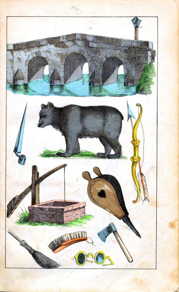 Juvenile - Alphabet book - German 1832 - 7