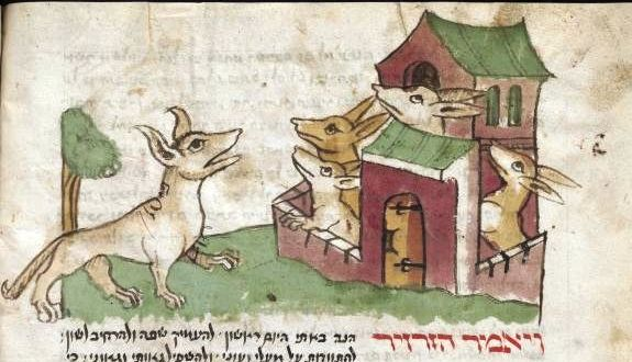 Mythology - Animals Acting Human - Hebraic fable (3)