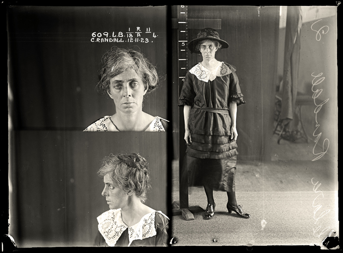 Portrait - Face - Photo - Mug shot - Clara Randall 1923
