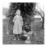 Portrait - Photo - Girl with kittens and doll